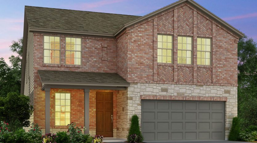 Meritage Homes Ranch Park Village - Texana Series subdivision 4118 Caprock Canyon Road Sachse TX 75048