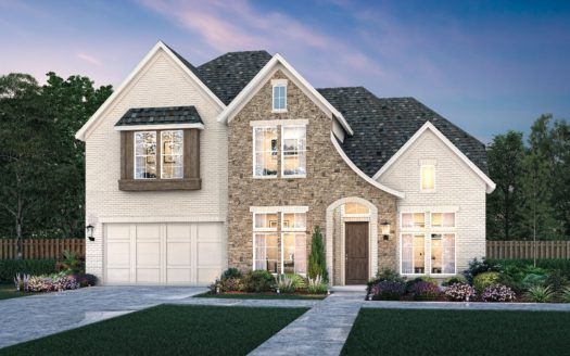 Southgate Homes The Grove 65's Series subdivision 8377 Needlegrass Road Frisco TX 75035