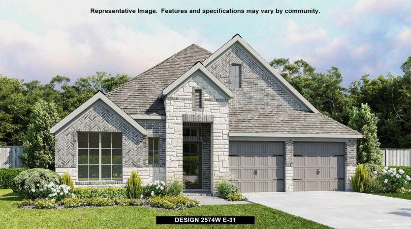 Perry Homes Pecan Square 50' subdivision 2424 LAZY DOG LANE Northlake TX 76247