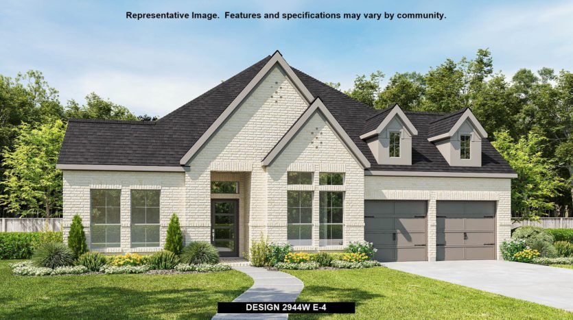 Perry Homes Reserve at Creekside 60' subdivision 909 QUAIL HOLLOW AVENUE Denton TX 76210