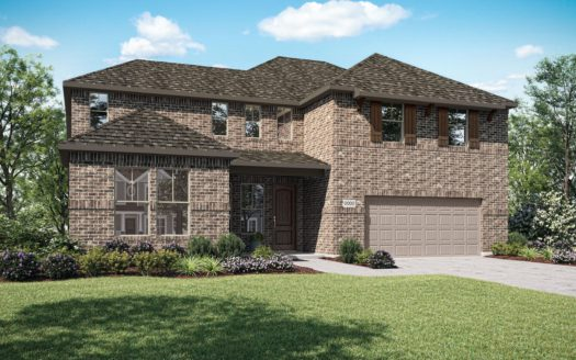 Tri Pointe Homes Lakeside Estates at Paloma Creek subdivision 612 Lake Cove Drive Little Elm TX 75068