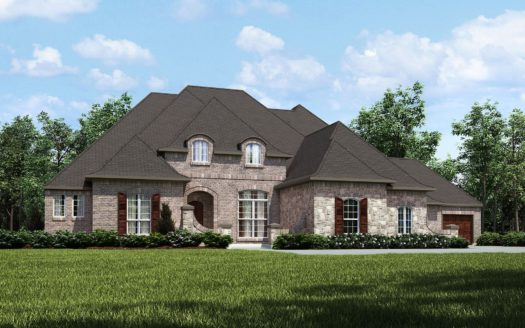 Drees Custom Homes Canyon Falls 100's subdivision 201 Big Sky Circle Northlake TX 76226