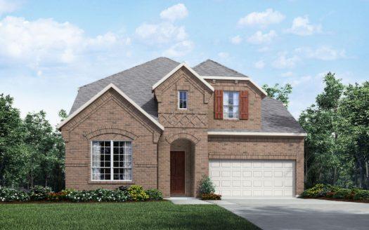 Drees Custom Homes Trinity Falls 60' subdivision 909 Lost Woods Way McKinney TX 75071