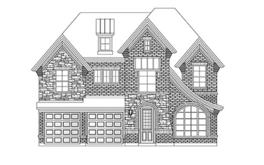 Grand Homes Rivercrest Park subdivision 606 Stone Oak Ln Allen TX 75002