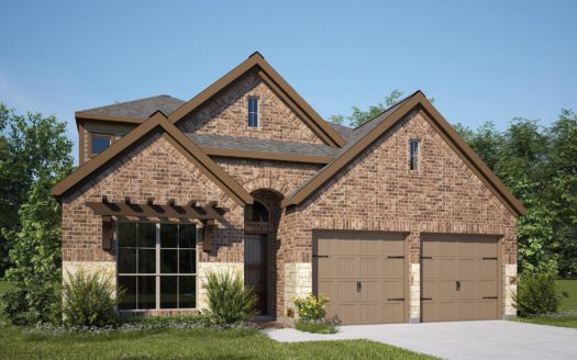 Perry Homes Prairie Oaks 45' subdivision 921 BENT BROOK ROAD Oak Point TX 75068