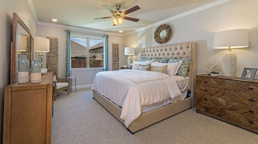 Beazer Homes The Villages of Hurricane Creek subdivision 317 Hardwood Trail Garland TX 75049