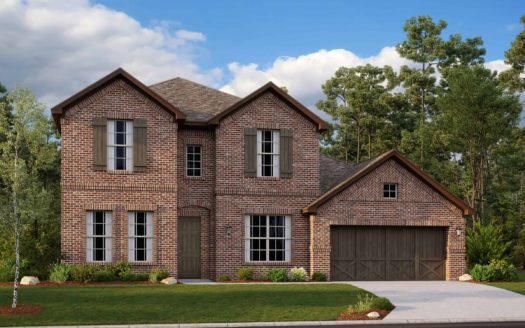 Mattamy Homes Villages of Creekwood subdivision 8393 Amethyst Lane Frisco TX 75036
