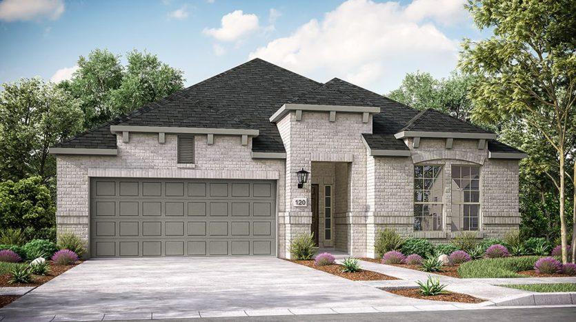 Taylor Morrison South Oak 50s subdivision 121 South Oak Drive Oak Point TX 75068
