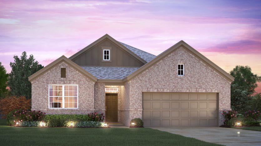 M/I Homes Legacy Ranch subdivision 2305 River Trail Melissa TX 75454