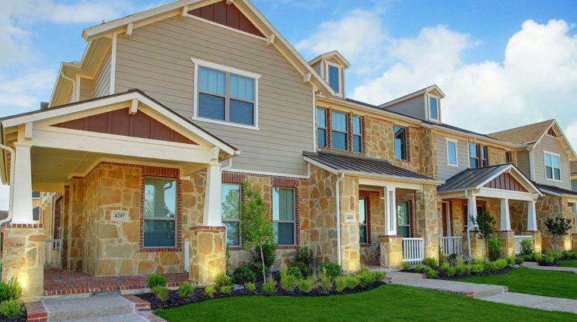 CB JENI Homes Viridian subdivision 1300 Island Vista Drive Arlington TX 76005