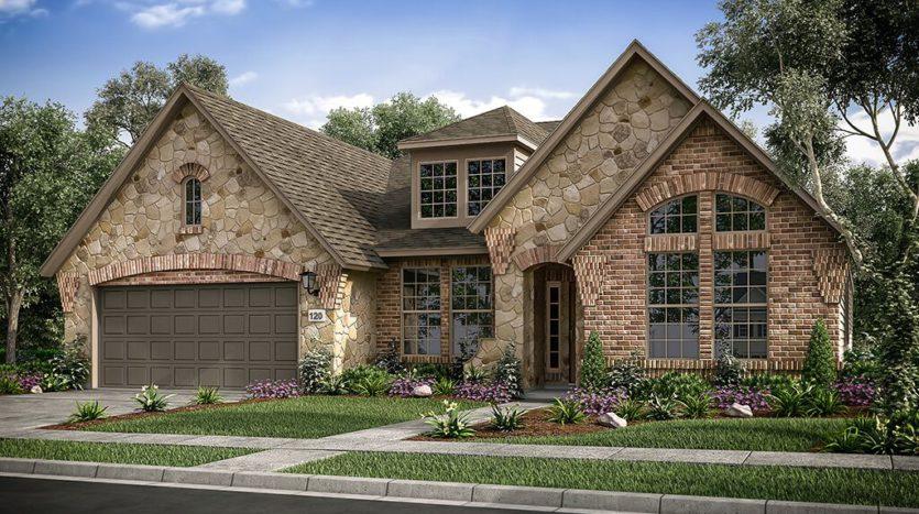 Taylor Morrison The Ridge at Northlake 60s subdivision 1101 Orchard Pass Northlake TX 76226