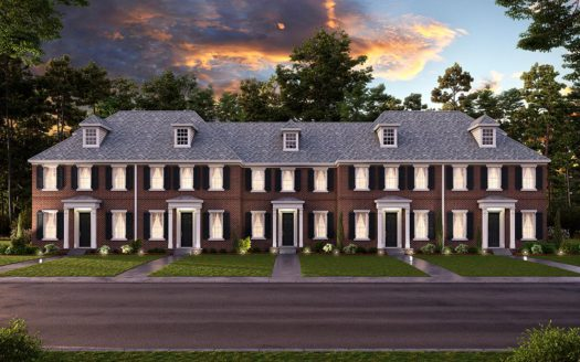 CB JENI Homes Pecan Square subdivision 2764 North Market Square Northlake TX 76247