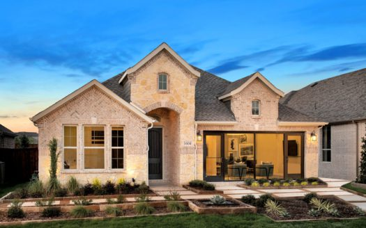 Tri Pointe Homes Gateway Parks subdivision 1604 Cedar Crest Drive Forney TX 75126