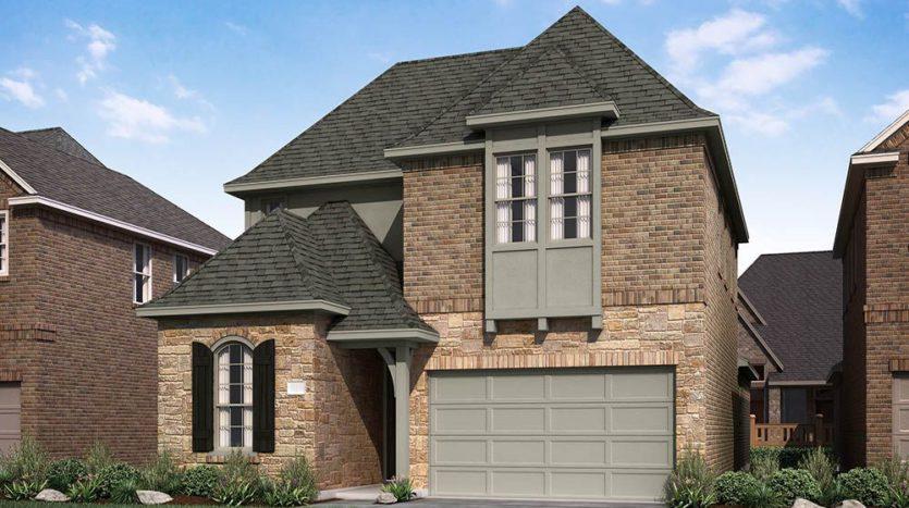 Normandy Homes Essex Park subdivision 4812 Zilker Avenue Carrollton TX 75010