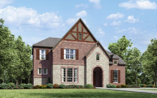 Drees Custom Homes Viridian - 65' subdivision 1715 Silver Marten Trail Arlington TX 76005