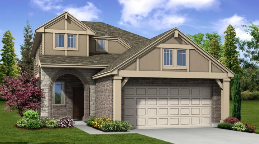 Pacesetter Homes Texas Aubrey Creek Estates subdivision 1001 Pecos Street Aubrey TX 76227