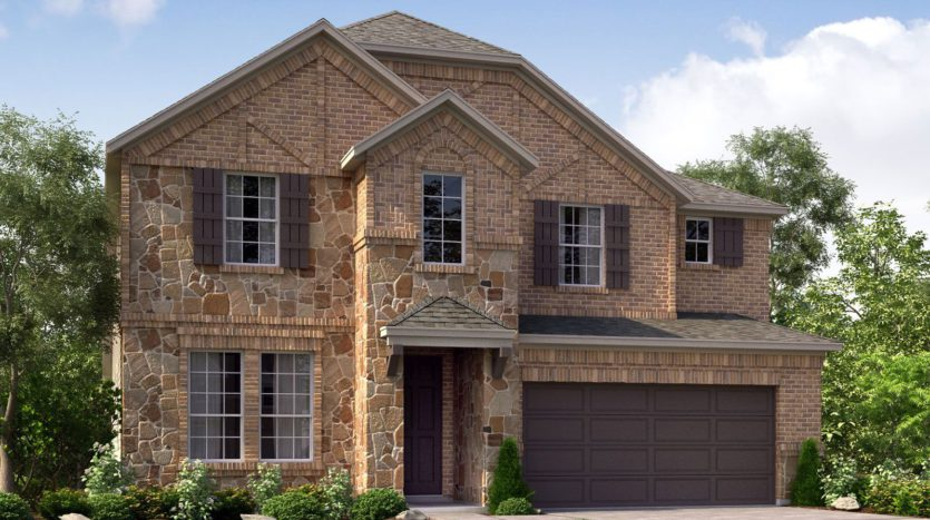 Meritage Homes Northaven - Manor Series subdivision 3601 Banton Street Rowlett TX 75089