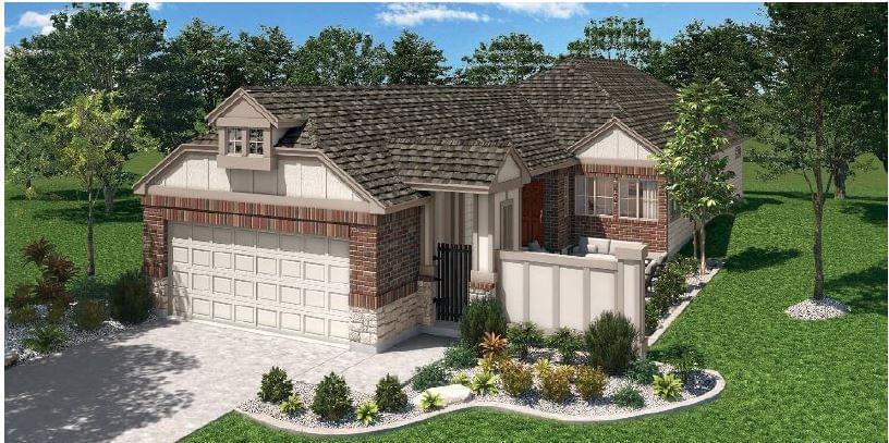 Pacesetter Homes Texas Aubrey Creek Estates subdivision 1001 Pecos Street Aubrey TX 76227