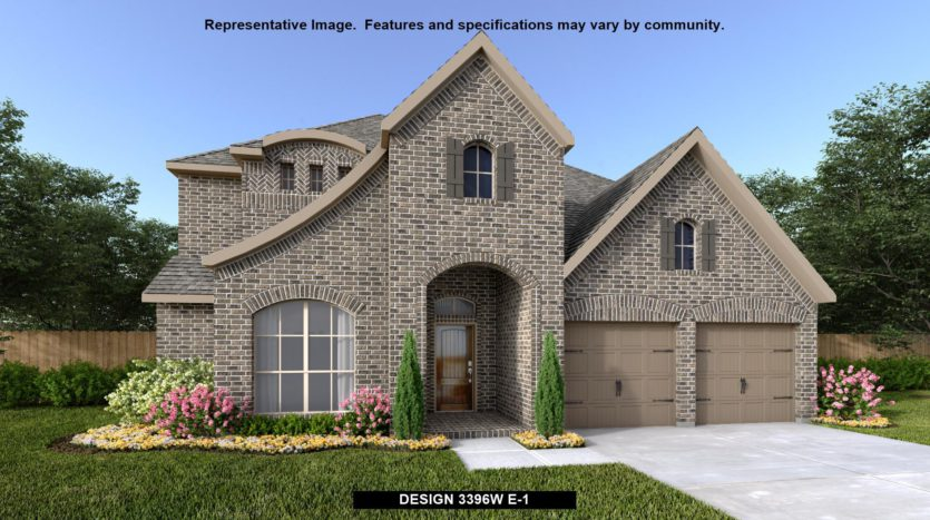 Perry Homes Prairie Oaks 60' subdivision 200 Carmen Oak Lane Little Elm TX 75068