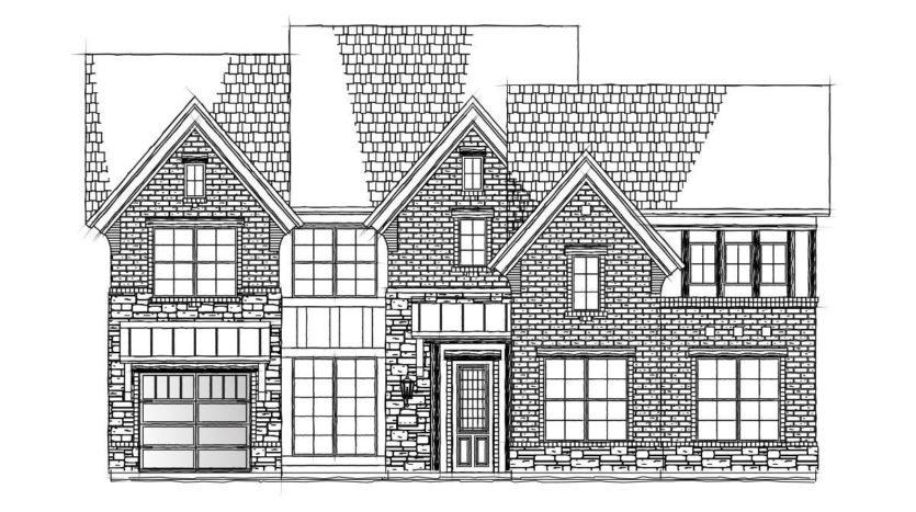 Grand Homes Vintage Place subdivision 701 Veranda View McKinney TX 75069