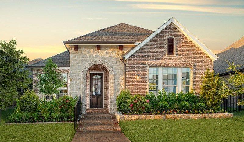 David Weekley Homes Elements at Viridian - Signature Series subdivision 4609 Beaver Creek Drive Arlington TX 76005