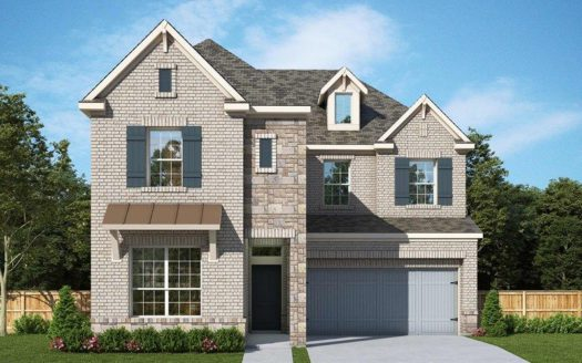 David Weekley Homes The Reserve at Northaven subdivision 3412 Evening Petal Dallas TX 75229