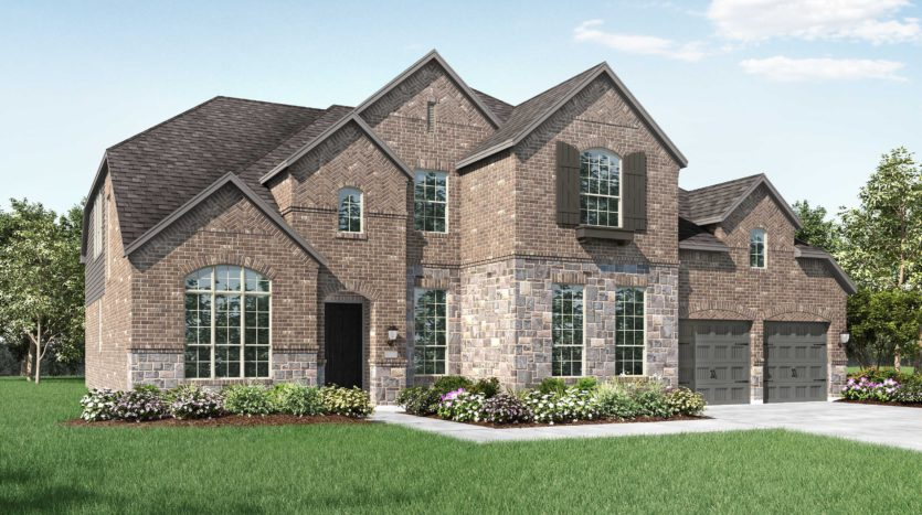 Highland Homes Star Trail: 86ft. lots subdivision 1801 Kyle Court Prosper TX 75078
