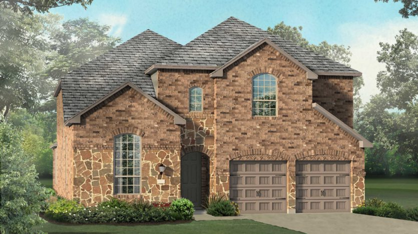 Highland Homes Star Trail: 55ft. lots subdivision 920 Shooting Star Drive Prosper TX 75078