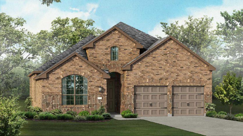 Highland Homes Trinity Falls: 50ft. lots subdivision 920 Lady Bird Drive McKinney TX 75071
