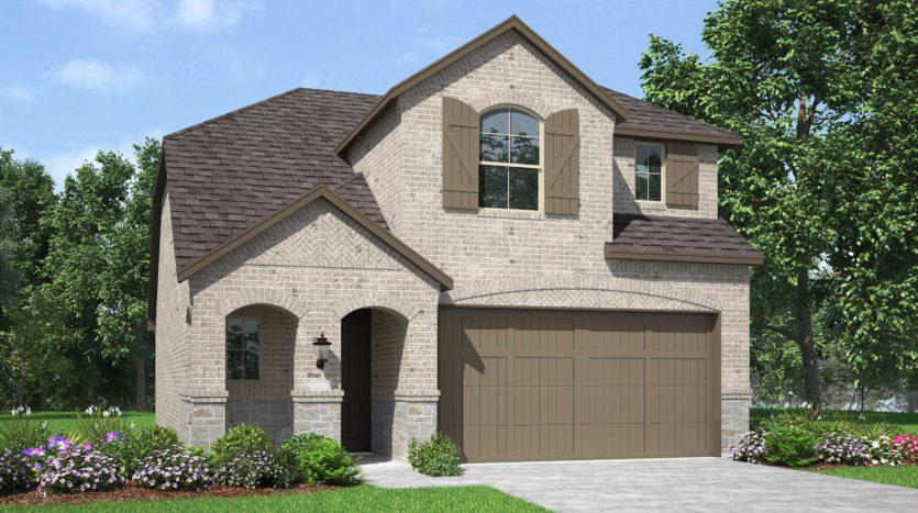 Highland Homes Sandbrock Ranch: 45ft. lots subdivision 1805 Coronet Avenue Aubrey TX 76227