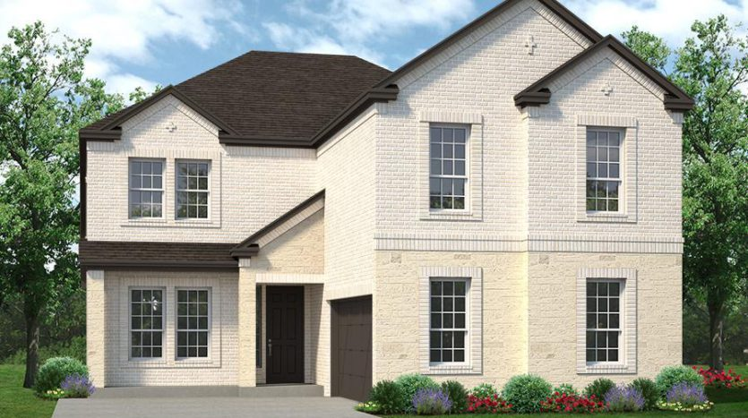 Sandlin Homes Mayfield Farms subdivision 826 Stamford Ave Arlington TX 76002