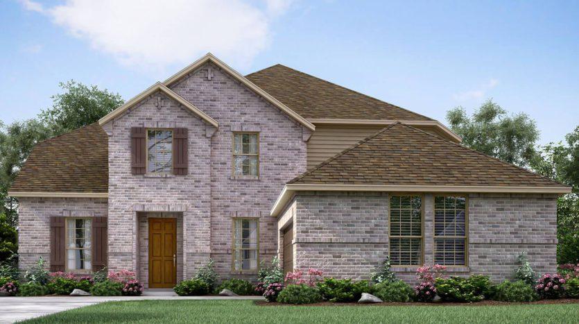 Meritage Homes Frontier Estates subdivision 1520 Winchester Drive Prosper TX 75078