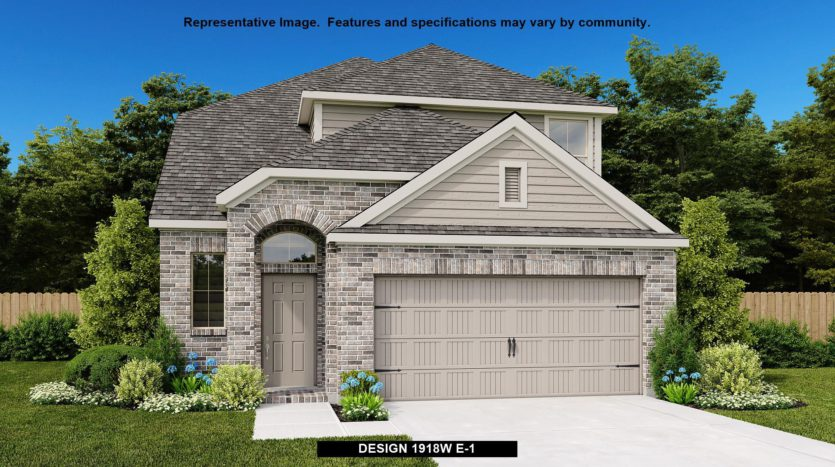 Perry Homes Devonshire - Reserve 40' subdivision 1005 Swindon Drive Forney TX 75126