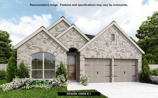 Perry Homes Trinity Falls 45' subdivision 8108 SAN BERNARD TRAIL McKinney TX 75071