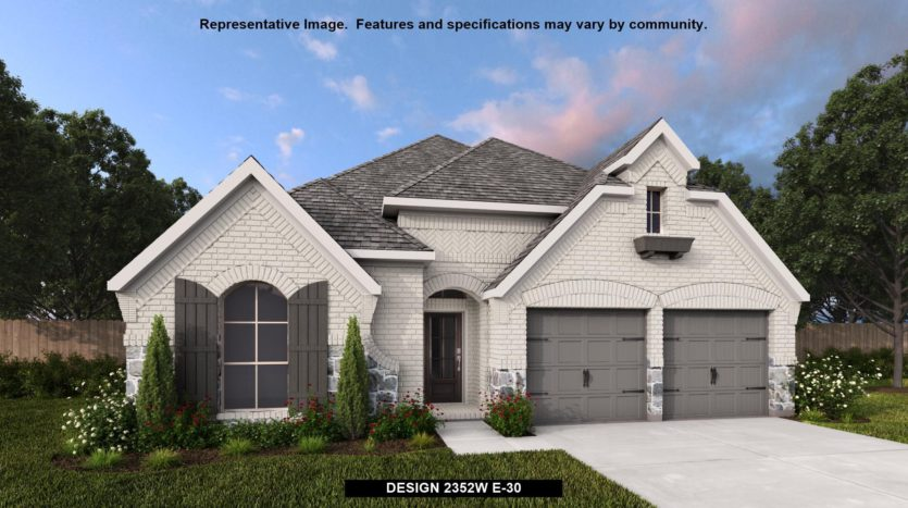 Perry Homes Devonshire - Reserve 50' subdivision 1017 SWINDON DRIVE Forney TX 75126