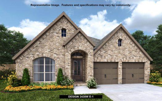 Perry Homes Prairie Oaks 50' subdivision 3517 Holly Hill Lane Little Elm TX 75068