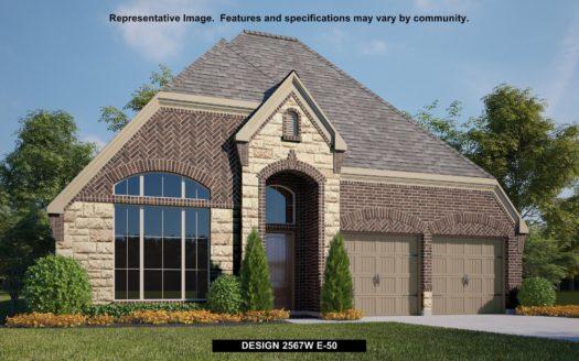 Perry Homes Pecan Square 50' subdivision 2228 LAZY DOG LANE Northlake TX 76247