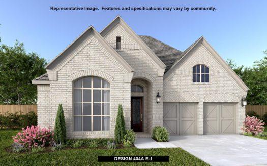 BRITTON HOMES Castle Hills 50' subdivision 3725 Dame Cara Way Lewisville TX 75056