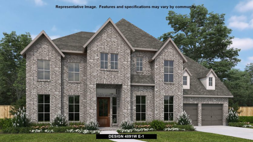 Perry Homes Canyon Falls 80'/100' subdivision 213 Big Sky Circle Northlake TX 76262