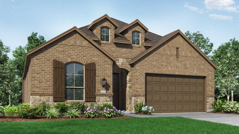 Highland Homes Devonshire: 50ft. lots subdivision 2433 Brightling Bend Forney TX 75126