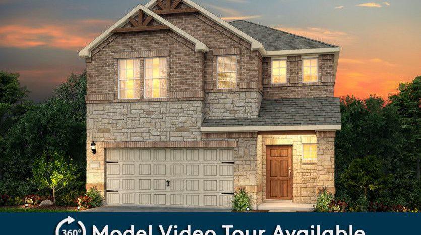 Pulte Homes Hidden Oaks subdivision Crist Road Garland TX 75040