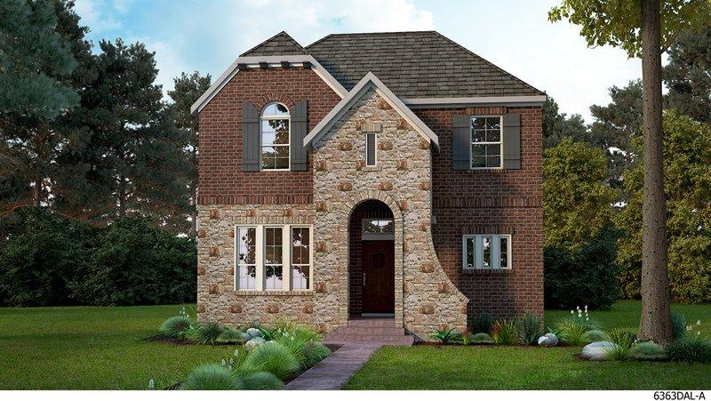 David Weekley Homes HomeTown Cottage subdivision 8801 Redding Street North Richland Hills TX 76180