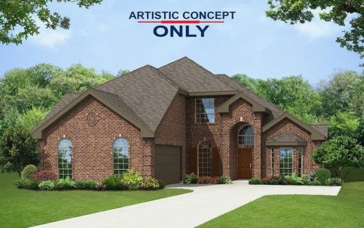 First Texas Homes Inspiration subdivision 1618 Emerald Bay Lane Wylie TX 75098