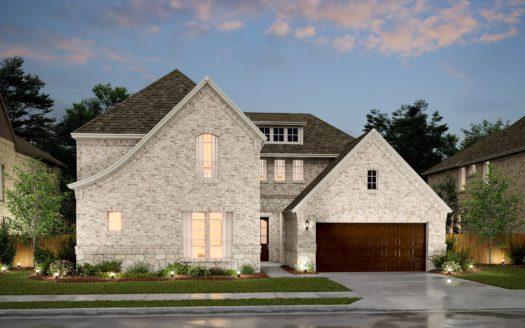 K. Hovnanian® Homes Liberty subdivision 3703 Republic Trail Melissa TX 75454