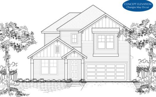Landon Homes Magnolia Landing subdivision 3513 Petals Place Rowlett TX 75089