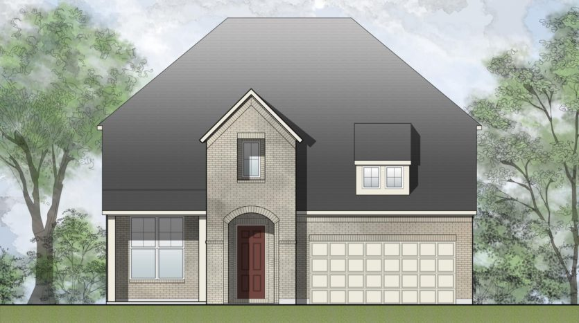 Drees Custom Homes South Pointe 65' subdivision 1703 Hackney Drive Mansfield TX 76063