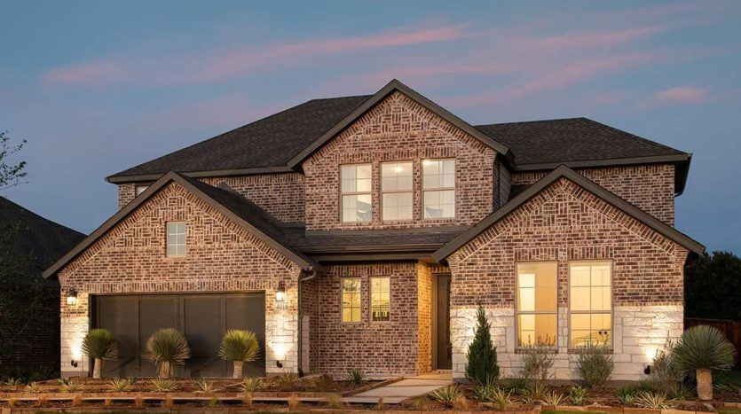Tri Pointe Homes Lennon Creek subdivision Parkridge Drive & Teasley Drive Denton TX 76210