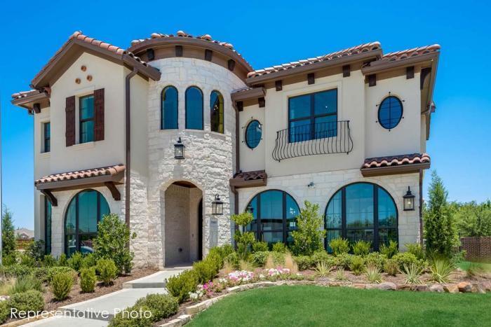 Grand Homes Lake Forest subdivision 4837 McKinney Hollow McKinney TX 75070