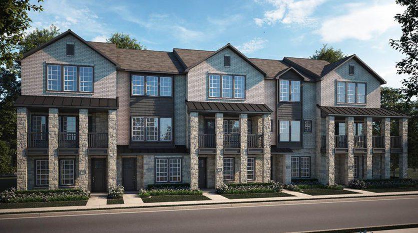 CB JENI Homes Viridian Island subdivision 1300 Island Vista Drive Arlington TX 76005