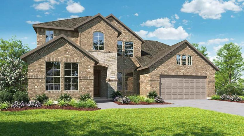 Tri Pointe Homes Valencia on the Lake subdivision South of Hwy 380 & West of 423 Little Elm TX 75068